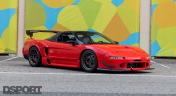Supercharged Acura NSX Front