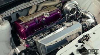 RSX Type S Engine Bay
