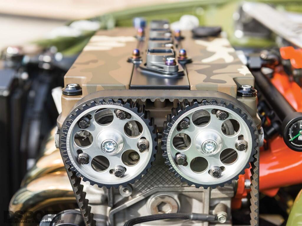 Tank Honda Civic EG Engine Bay
