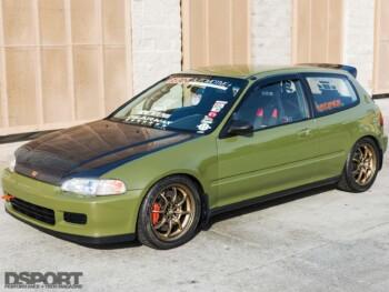 Tank Honda Civic EG Front