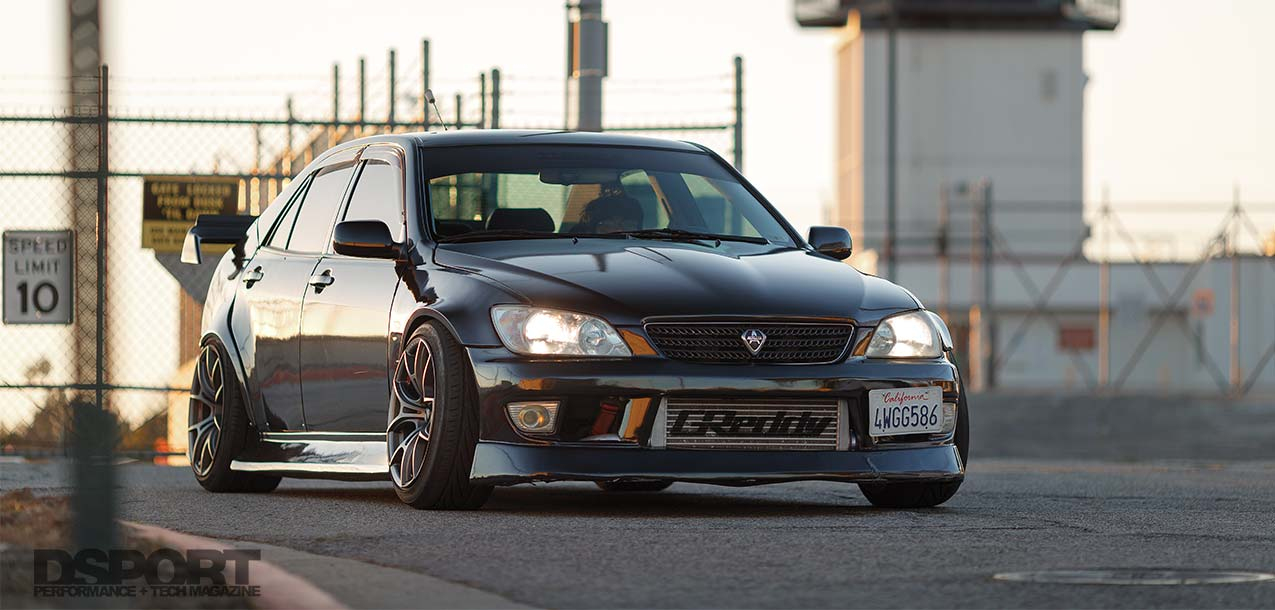Ken Gushi Lexus IS300 Lead