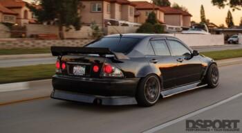 Ken Gushi Lexus IS300 Rear