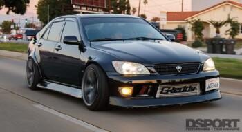 Ken Gushi Lexus IS300 Front