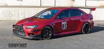 Mitsubishi Evo X Lead