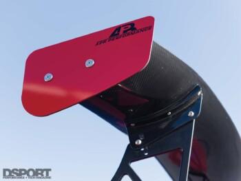 Mitsubishi Evo X APR Wing