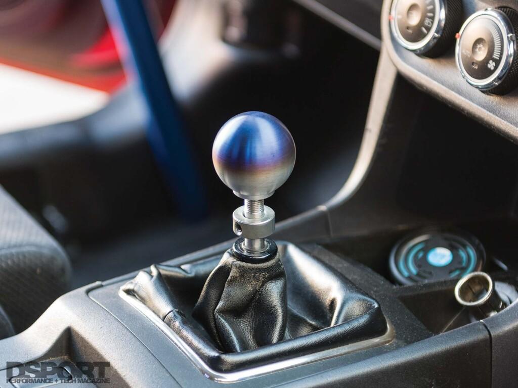 Mitsubishi Evo X Shift Knob