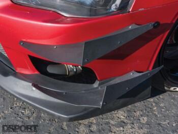 Mitsubishi Evo X Canard
