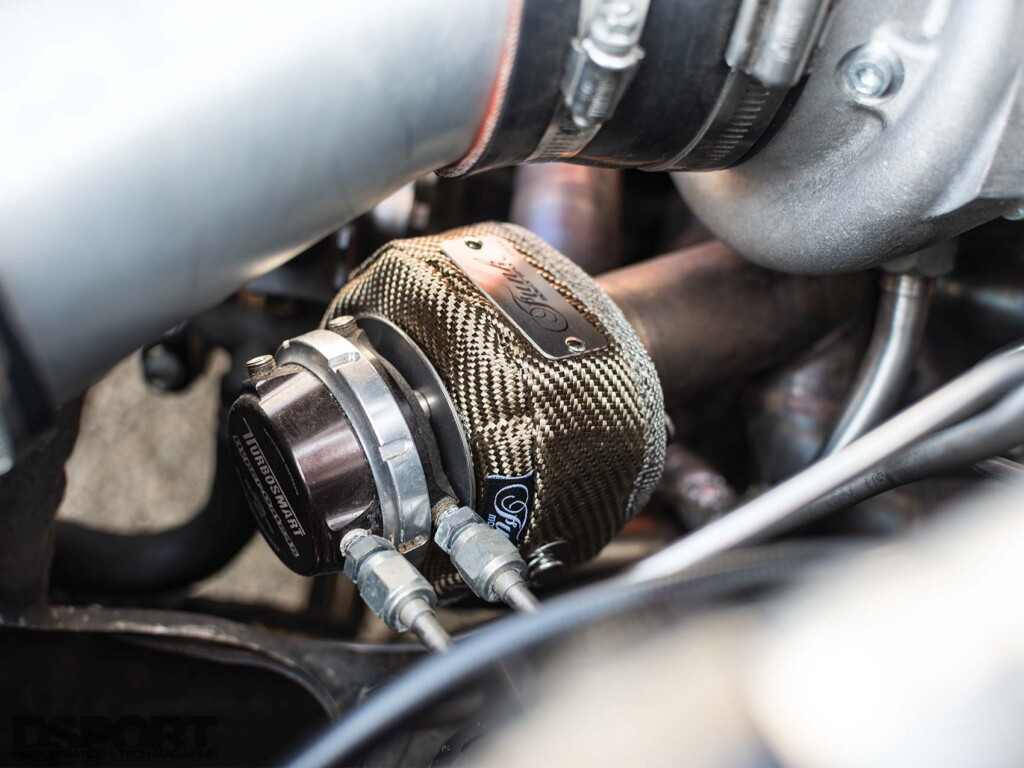 Club DSPORT Nissan R32 Turbosmart
