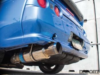 Club DSPORT Nissan R32 Rear