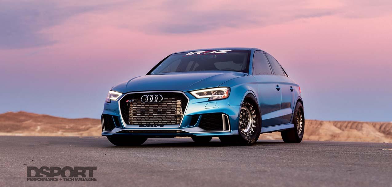 Iroz Motorsport Audi RS3 Lead