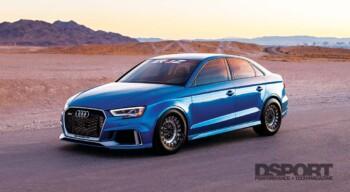 Iroz Motorsport Audi RS3 Front