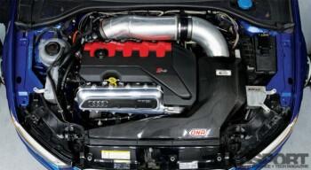 Iroz Motorsport Audi RS3 Engine Bay