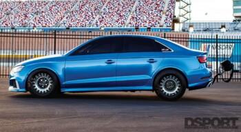 Iroz Motorsport Audi RS3 Side Profile