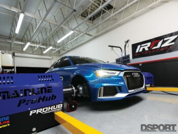 Iroz Motorsport Audi RS3 Dyno