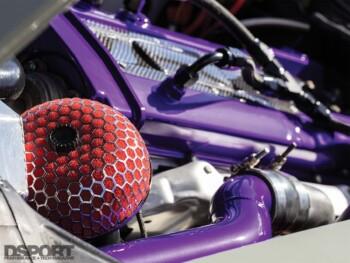 Datsun 280z Engine Bay