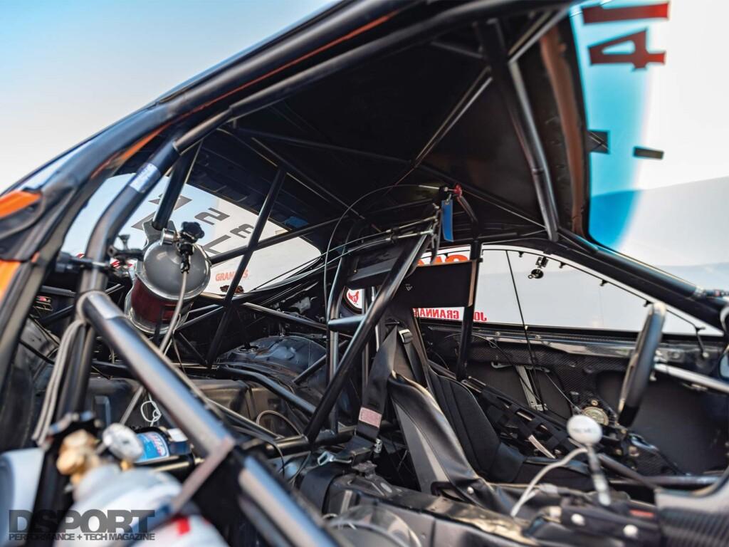 Grannas Racing Supra Interior
