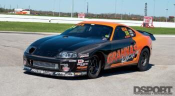 Grannas Racing Supra Front