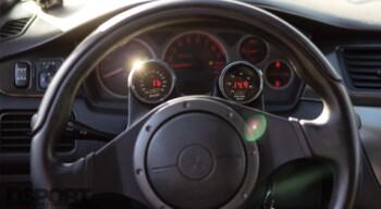 Mitsubishi Evo IX Interior