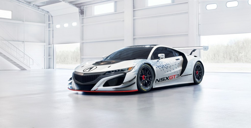 Courtesy of Acura - Acura NSX GT3 Race Car
