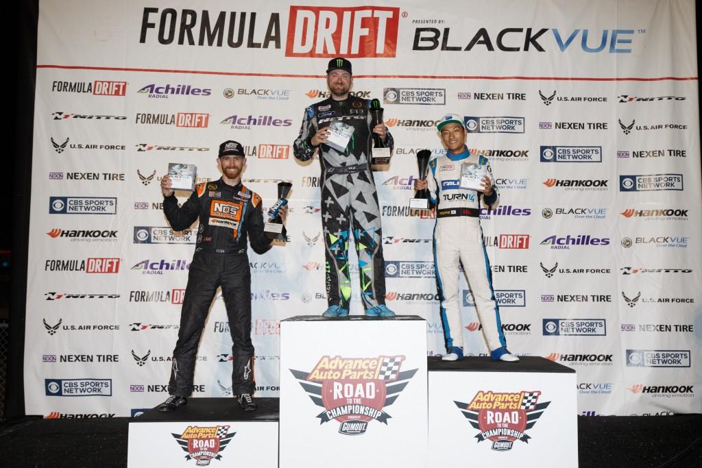 Formula Drift 2016 Atlanta Podium