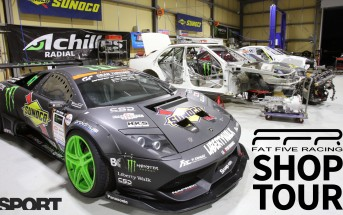 Daigo Saito's Fat Five Racing Shop Tour