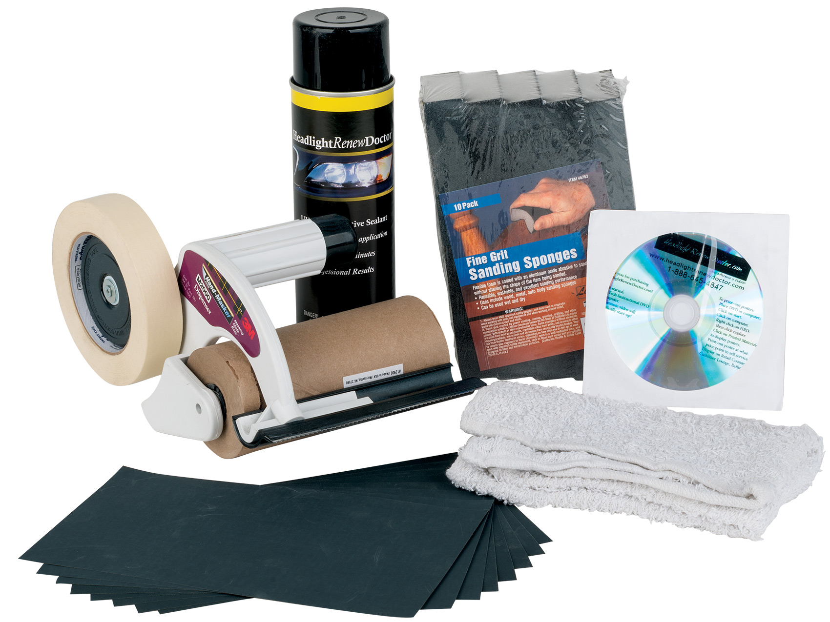Headlight Restoration Product Showcase