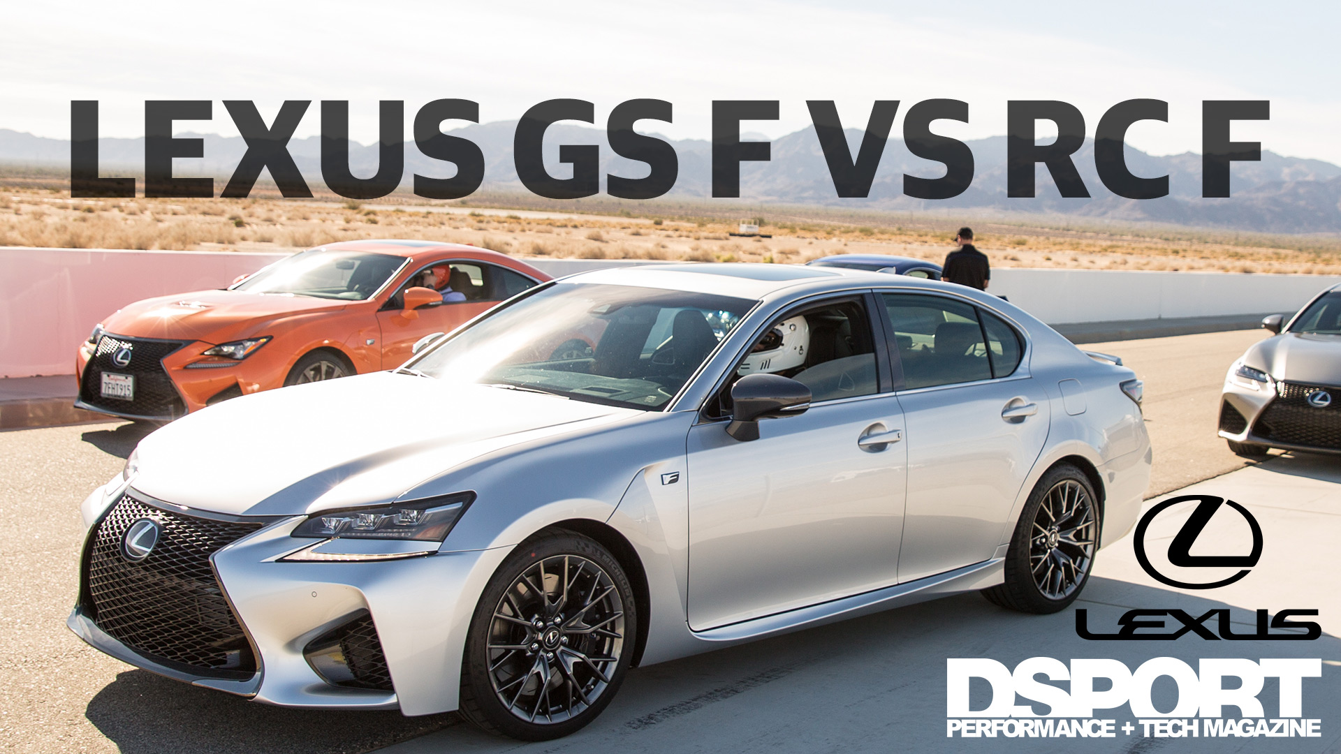 Lexus GS F vs RC F