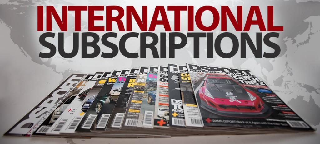 DSPORT International Subscription
