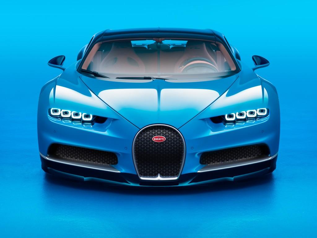 Front of the Bugatti Chiron