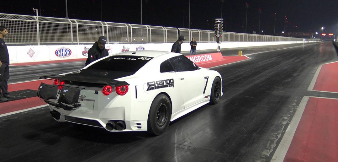 Ekanoo Racing GT-R World Record Run
