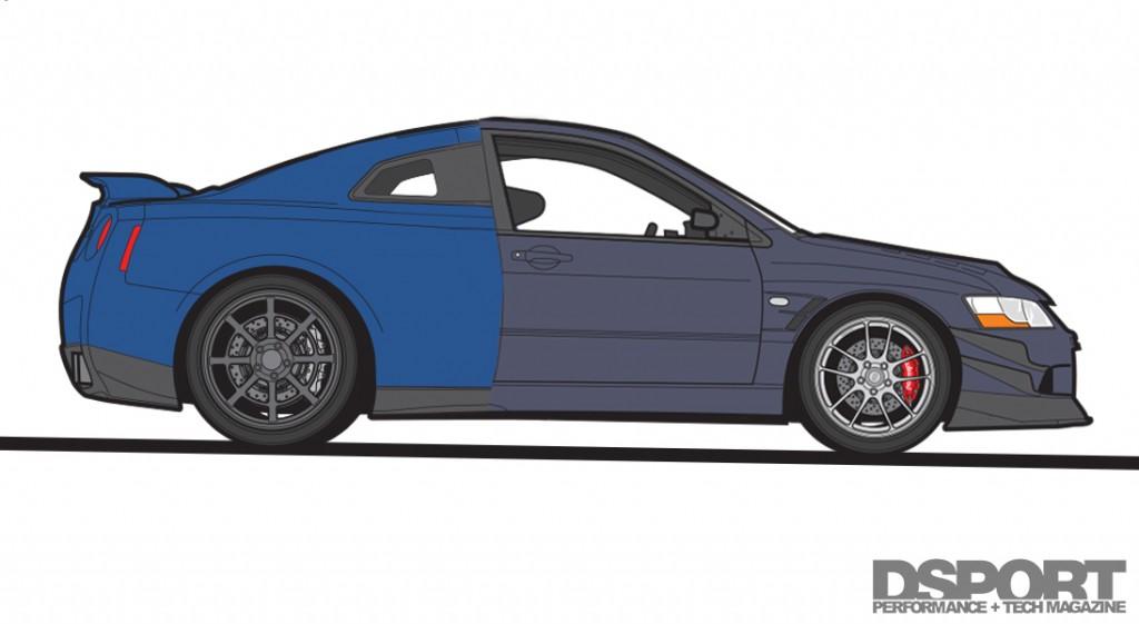 GT-R / EVO hybrid