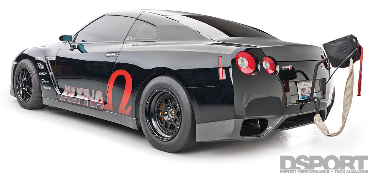 AMS Alpha Omega R35 GT-R First in the 7s