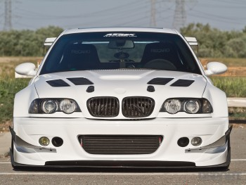 DSPORT Magazine feature editorial on this turbocharged E46 BMW M3