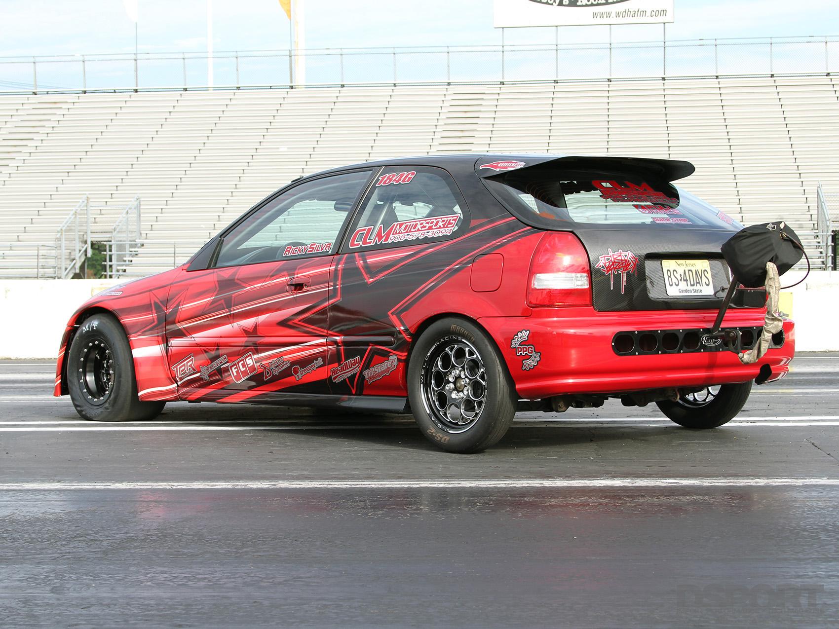 8 Second Honda Civic Ek Dragger Dsport Magazine