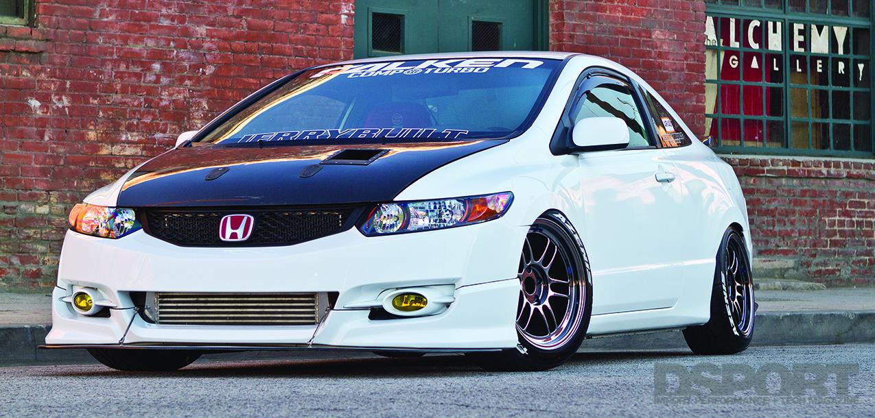Turbocharged 480HP K24-powered Honda Civic FG1