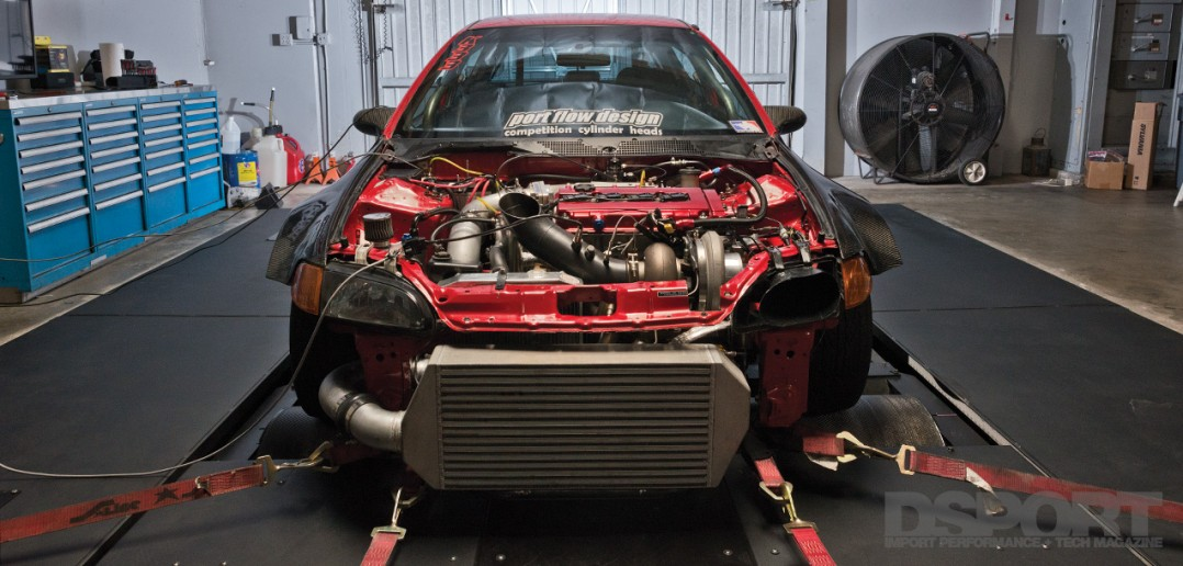 DSPORT Project FAME Civic 1000+ horsepower Honda B-Series Engine