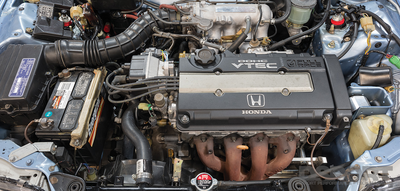 DSPORT Magazine Honda CRX engine swap