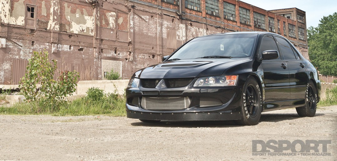 9-second Mitsubishi EVO VIII Street Machine
