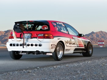 DSPORT Magazine's feature editorial on the M Factory 8-Second Drag Civic