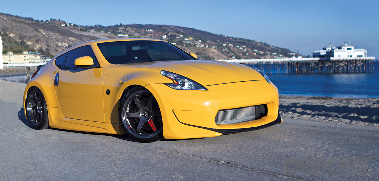 Supercharged Nissan 350Z Amuse