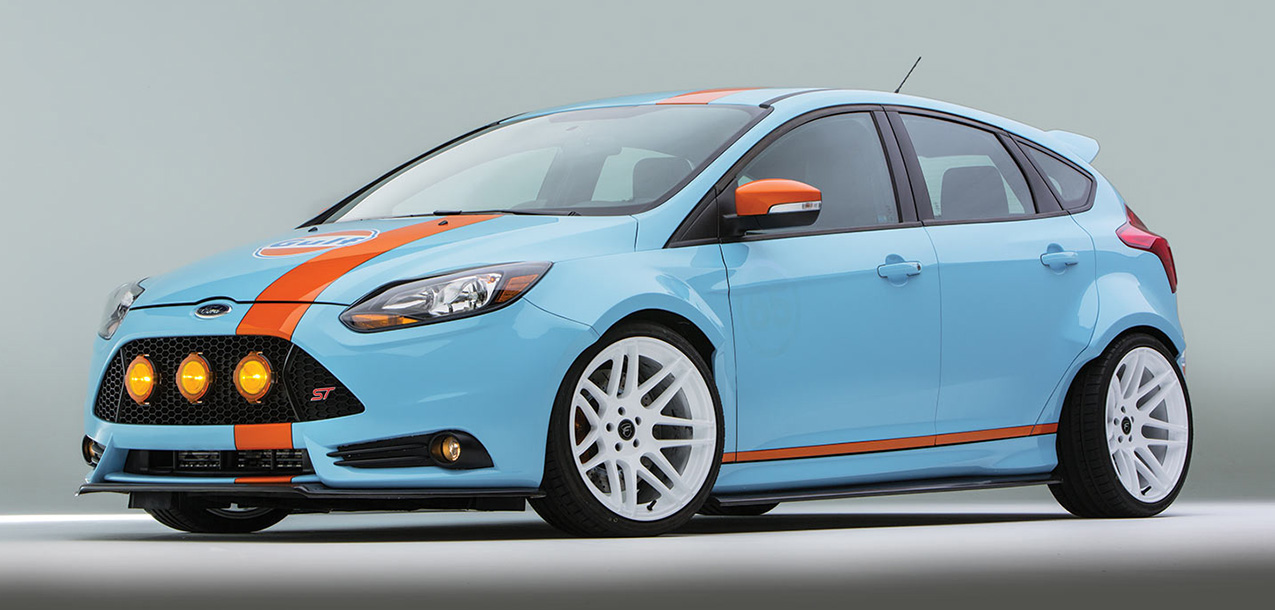 Ford Focus ST Vortech UTI DSPORT Magazine #143