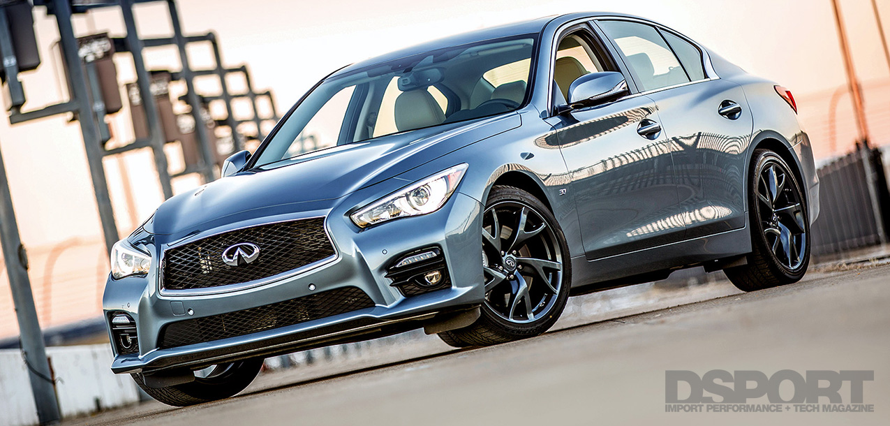 DSPORT First Drive of 2014 Infiniti Q50S