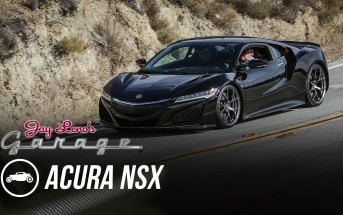 Acura NSX in Jay Leno's Garage