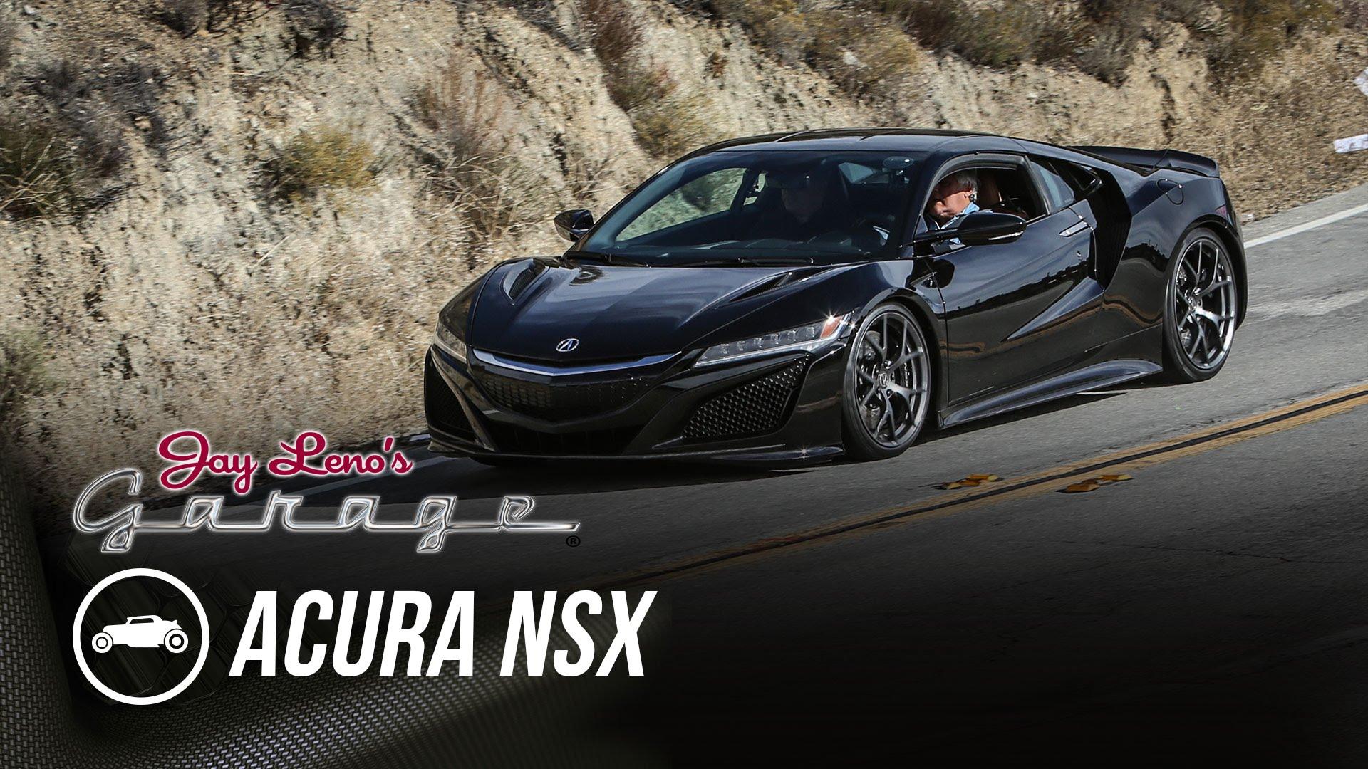 Acura NSX in Jay Leno's Garage