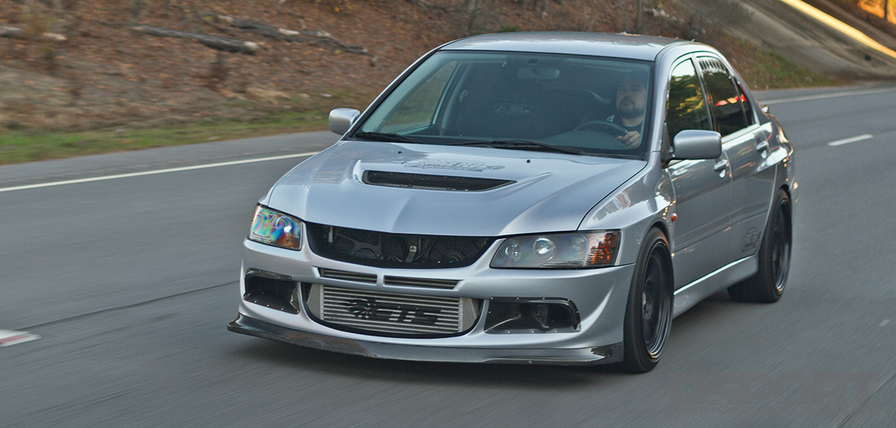 DSPORT Magazine feature of a stroked 775 horsepower Mitsubishi EVO