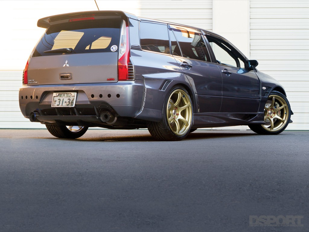 DSPORT Feature 2006 Mitsubishi Lancer EVOLUTION Wagon