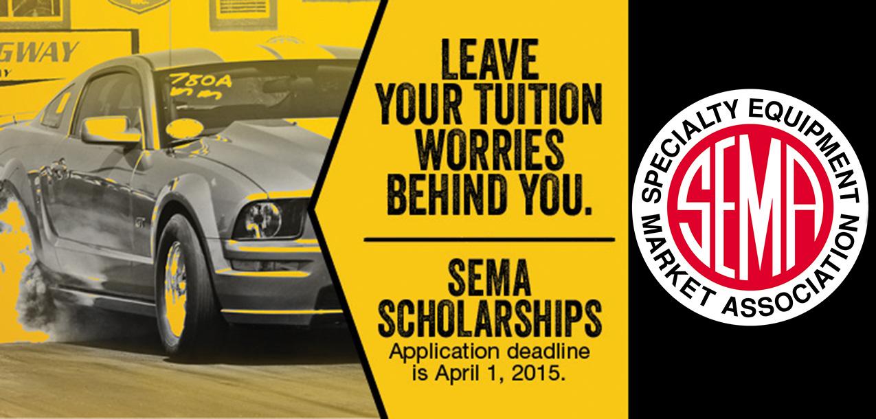 SEMA Scholarship Opportunity