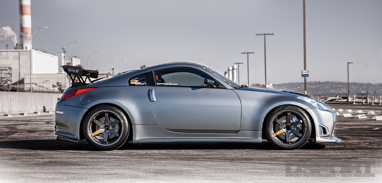 DSPORT Magazine Twin-turbocharged 350Z