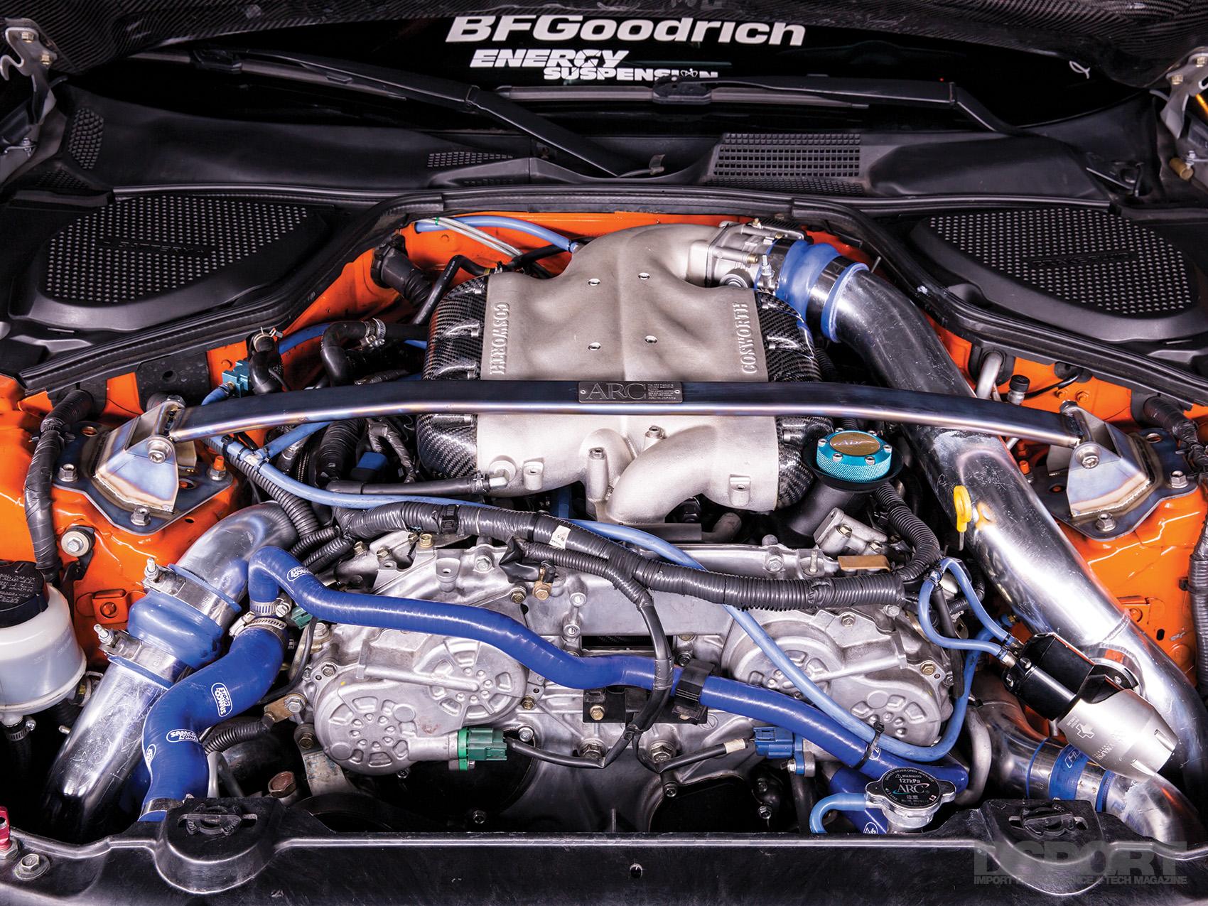 Twin-Turbocharged Nissan 350Z - Page 2 of 4 - DSPORT Magazine