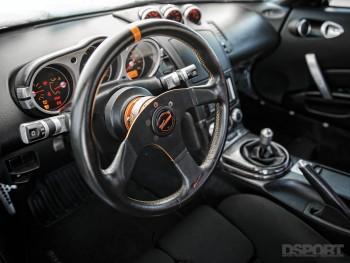 DSPORT Magazine Twin-turbocharged 350Z